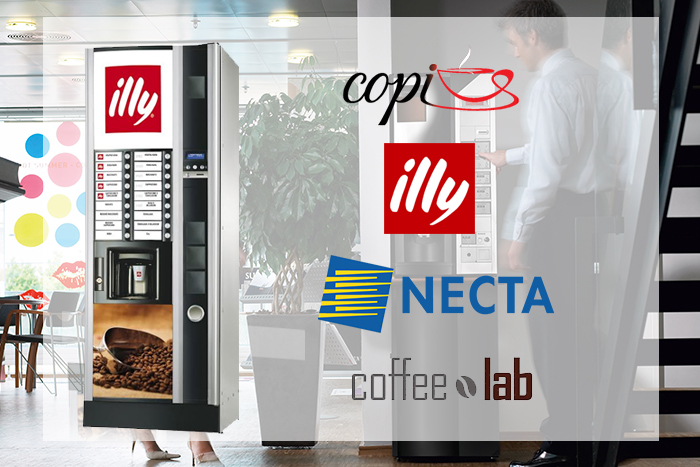 illy coffee, espresso and vending machines